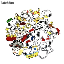 Patchfan 20pcs dog cartoon funny Kids Toy Sticker for DIY phone Luggage Laptop Motorcycle Phone Waterproof A1661