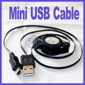 For Mobile GPS MP3 Retractable mini USB Cable Free Shipping