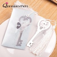 10pcs Key To My Heart Bookmark Wedding Favors And Gifts Wedding Supplies Wedding Souvenirs Wedding Gifts