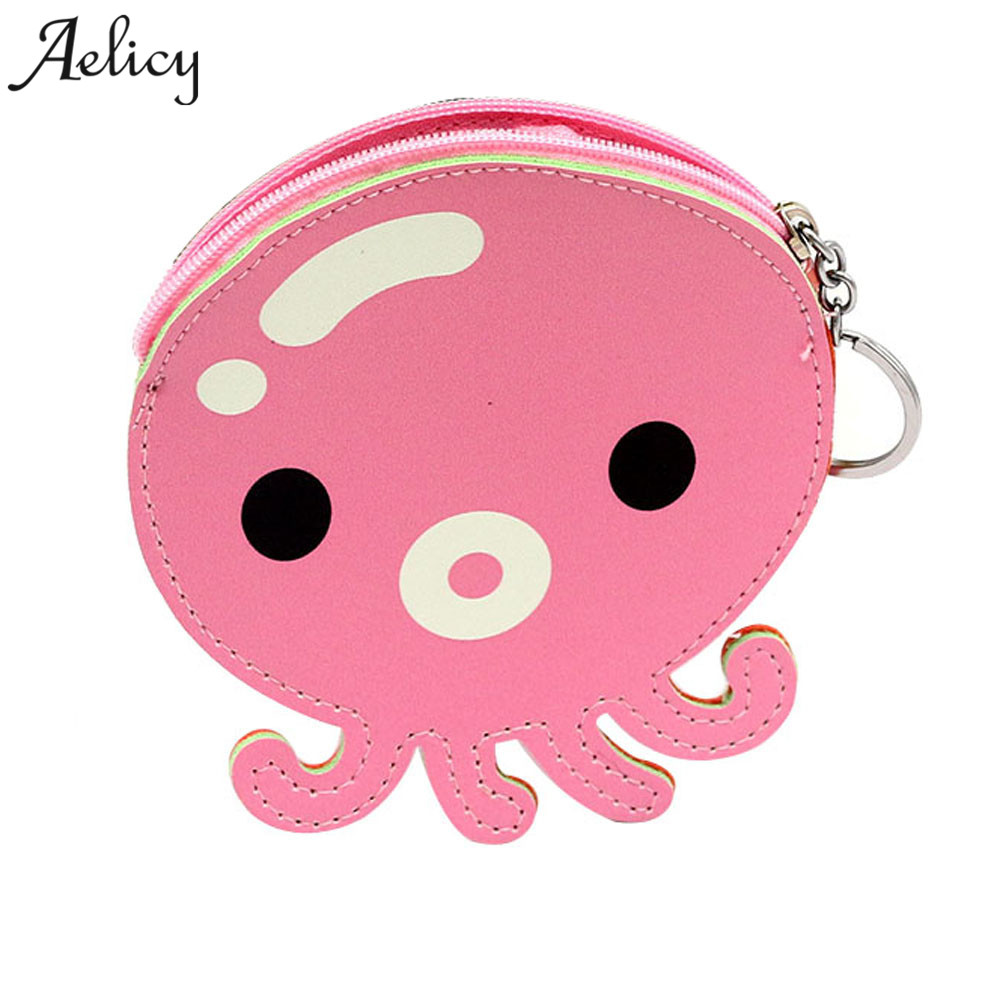 Aelicy 2018 NEW DESIGN Women CUTE PU Leather Small Wallet Coin Purse Clutch Travel wallet Short Money Wallet Female dropshipping