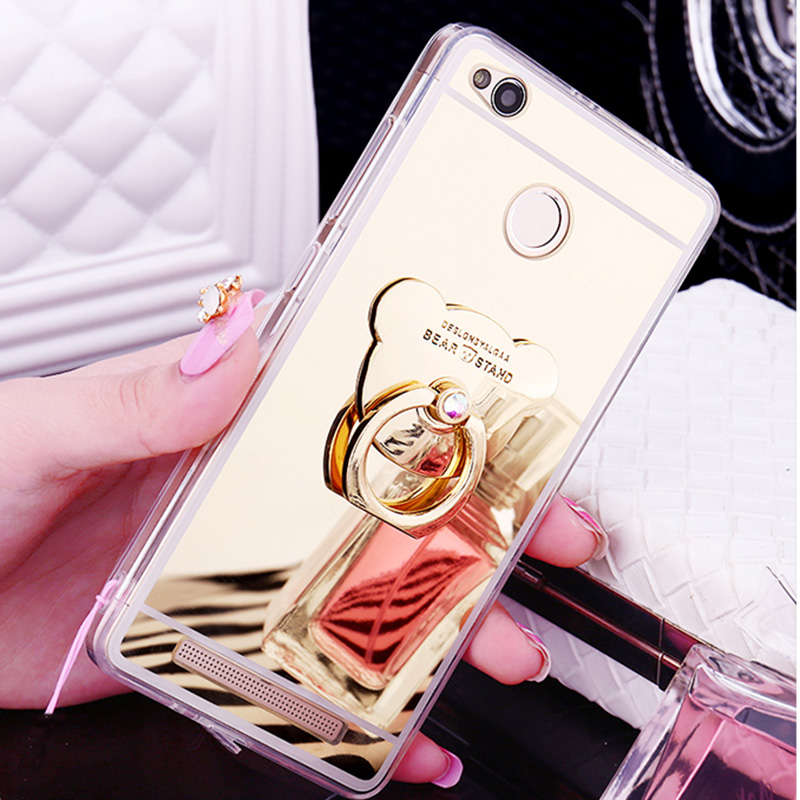 Slim Mirror Cases For Xiaomi Mi A1 Case Silicon Mi