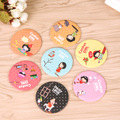 1Pcs Small Cute Cartoon Pocket Mirror Makeup Compact Mirrors Portable Beauty Mini Cosmetics Mini Beauty Make Up Tools
