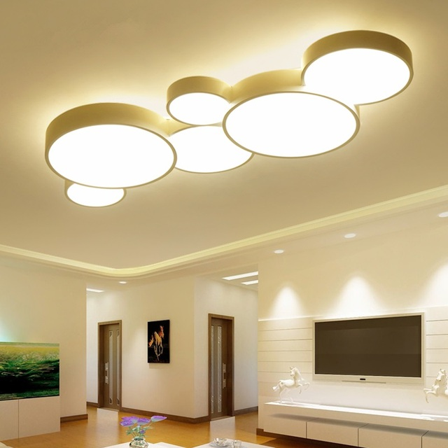 LED Ceiling lights Iron fixtures children bedroom Ceiling lamps ...