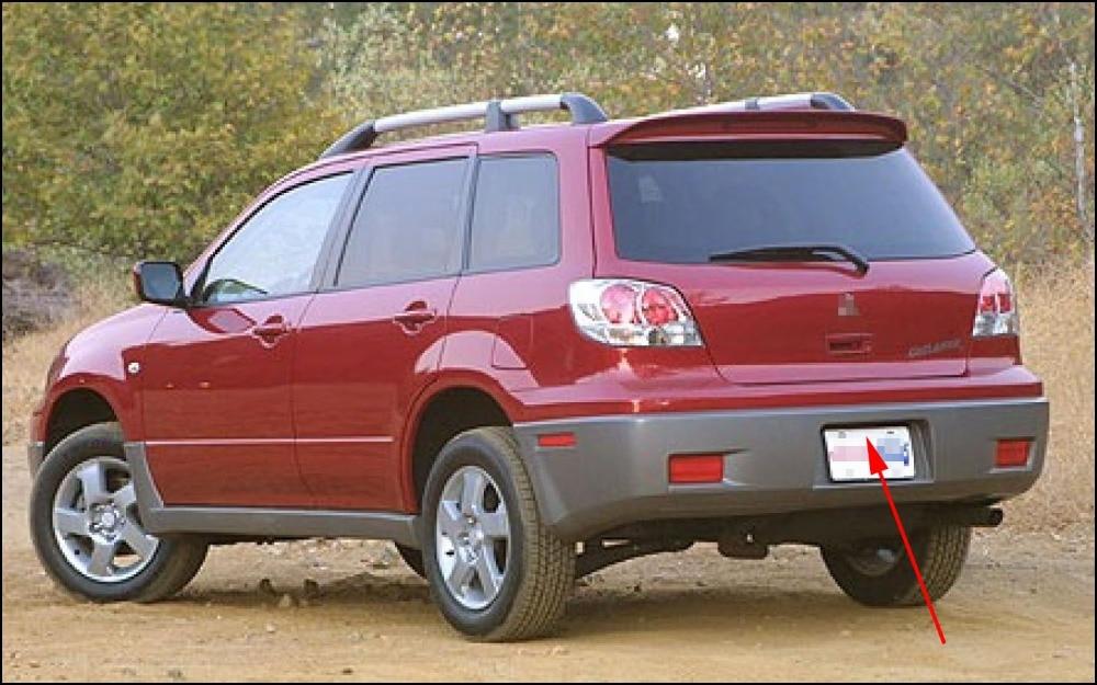 For Mitsubishi Outlander Airtrek MK1 2003~2006