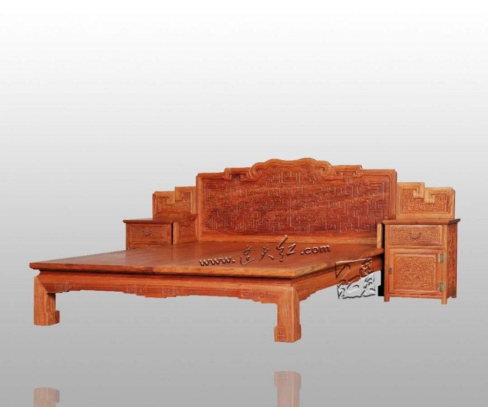Schlafzimmer Möbel 2*2,2 mt König und Königin doppel Betten Rahmen ...