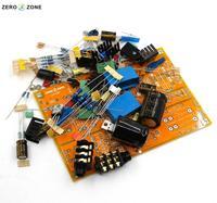 GZLOZONE Upgraded Headphone Amplifier Kit Preamplifier Kit Base On Lehmann Amp