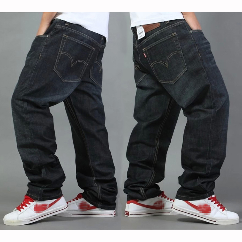 Aliexpress.com : Buy Fashion Straight Men Jeans Brands Loose Denim ...