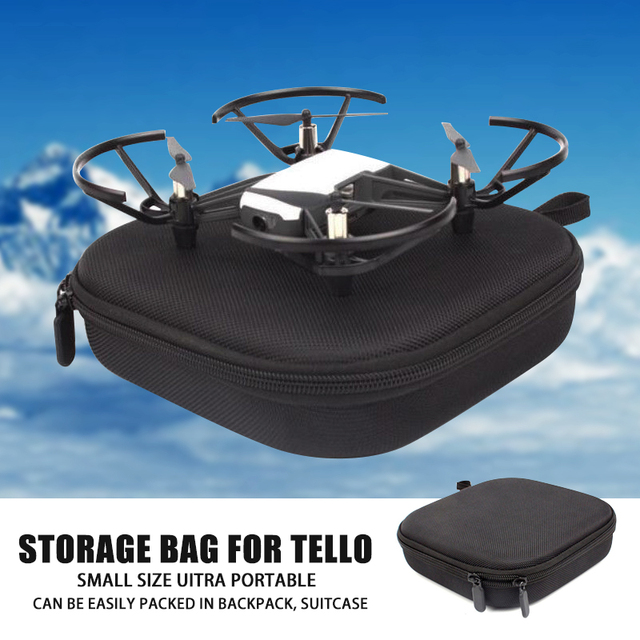 Mayitr 1pc Portable Body Battery Carrying Case Bag Waterproof Drone Storage Box For DJI Tello