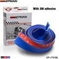 EPMAN -2.5M  Autos Front Bumper Lip Splitter Chin Spoiler (Black/Red/Blue) EP-JT01