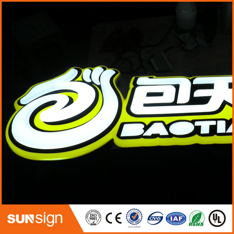 High Quality Waterproof Led Letters 3D Acrylic Sign