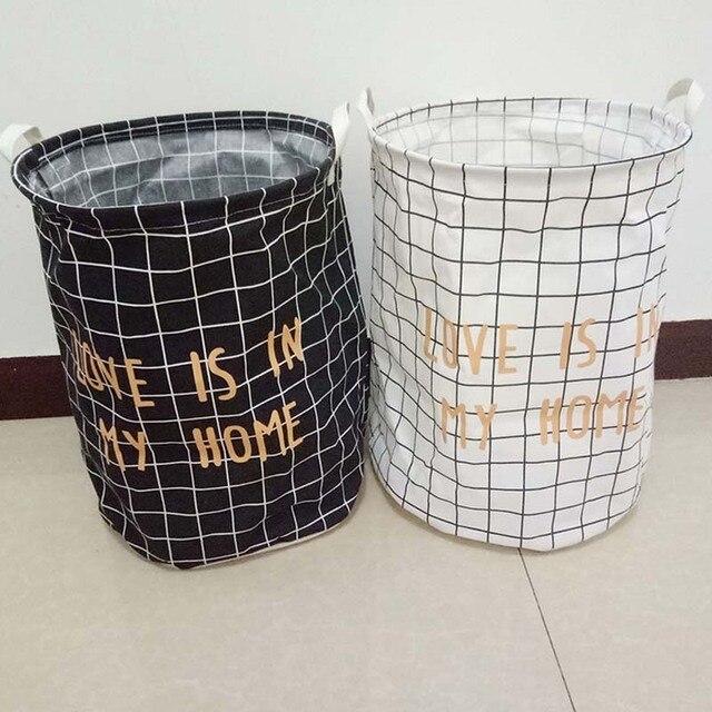 Caixa Dobrável grande Saco de Lavagem Saco de Lavagem Cesto de roupa suja Cesto de Roupa Suja Balde De Armazenamento Dobrado Caixa de Armazenamento