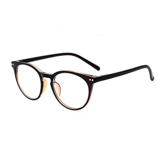 78100e491c 2017 fashion big glasses frame men women retro vintage decorative frames  without lenses round glass frame oculos de grau