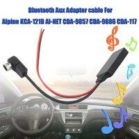 Автомобильный Кабель для входа внешнего сигнала bluetooth Aux кабель-адаптер кабель для автомобильного динамика для Alpine 121B 9857 9886 117 смартфон в авт...