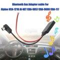 Автомобильный Aux кабель bluetooth Aux кабель-адаптер кабель для автомобильного динамика для Alpine 121B 9857 9886 117 смартфонов в автомобиль стерео в поток...