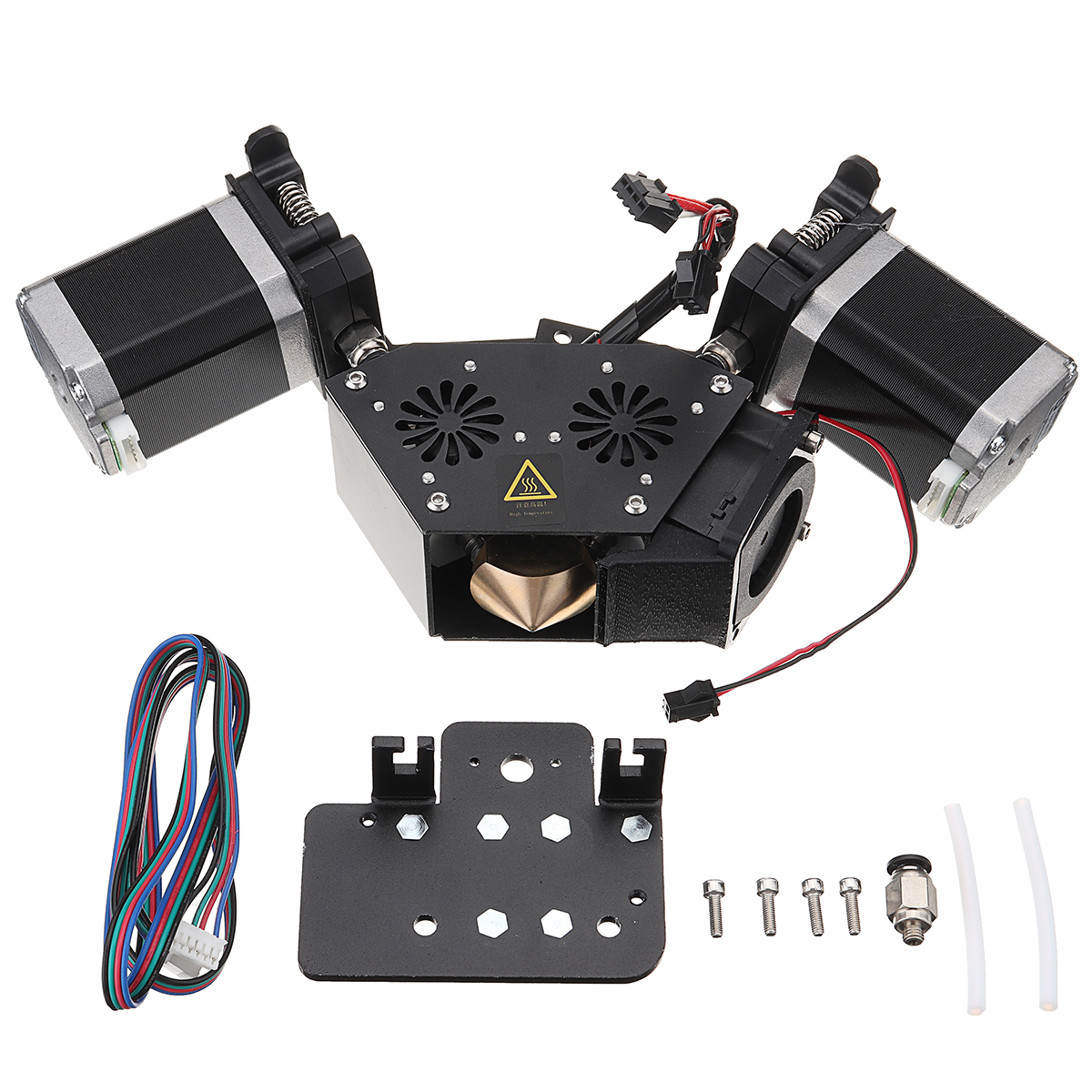 1,75 мм 0,5 мм 2 в 1 из экструдер комплект Поддержка четыре Цвет функции смешанные/Dual/градуированных/ один Цвет для 3D принтеры сопла