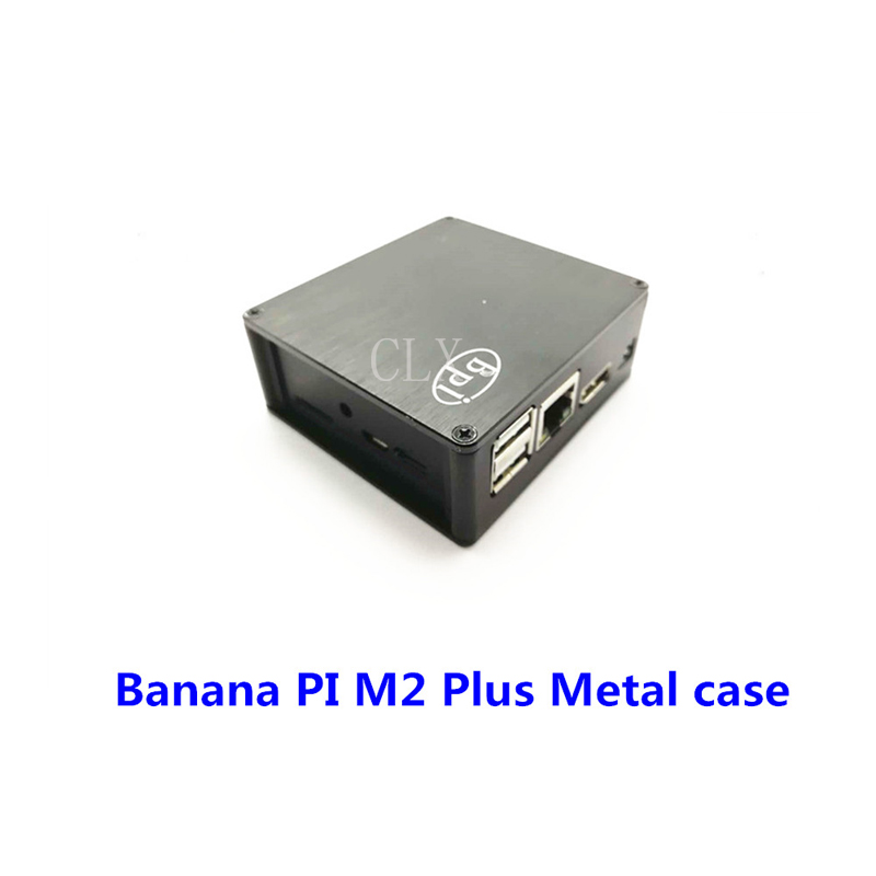 Banana PI M2+ Metal Case Easier To Dissipate Heat For Banana Pi M2+ Free Shipping