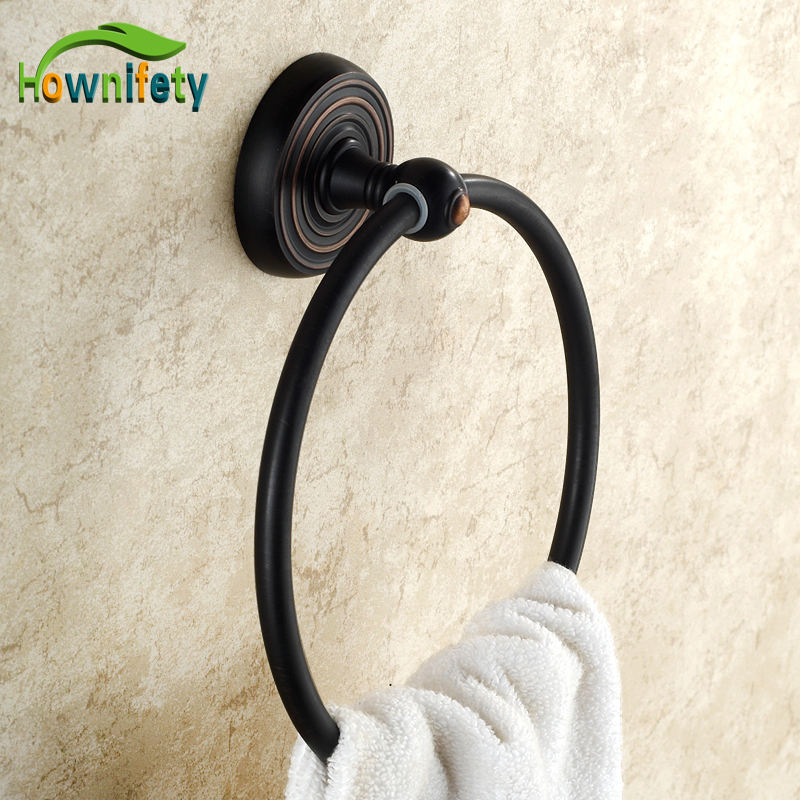 Oil Rubbed Bronze Bathroom Accessaries Towel Hook Ring Bar Shelf Rack Wall Mounted modern wall mounted bathroom oil rubbed bronze towel rack shelf with towel bar