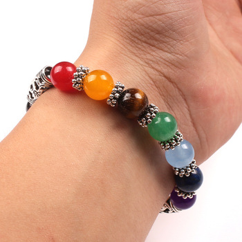 Bracelet 7 Chakras Pierre 8