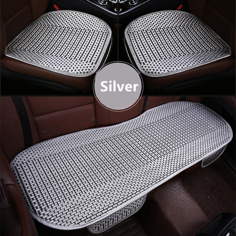 GSPSCN 3Pcs/set Universal Size Car Cushion Pad Fit For Most Cars Summer Cool CAR Seats Cushion Spring General Car seat covers