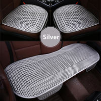 GSPSCN 3Pcs Set Universal Size Car Cushion Pad Fit For Most Cars Summer Cool CAR Seats