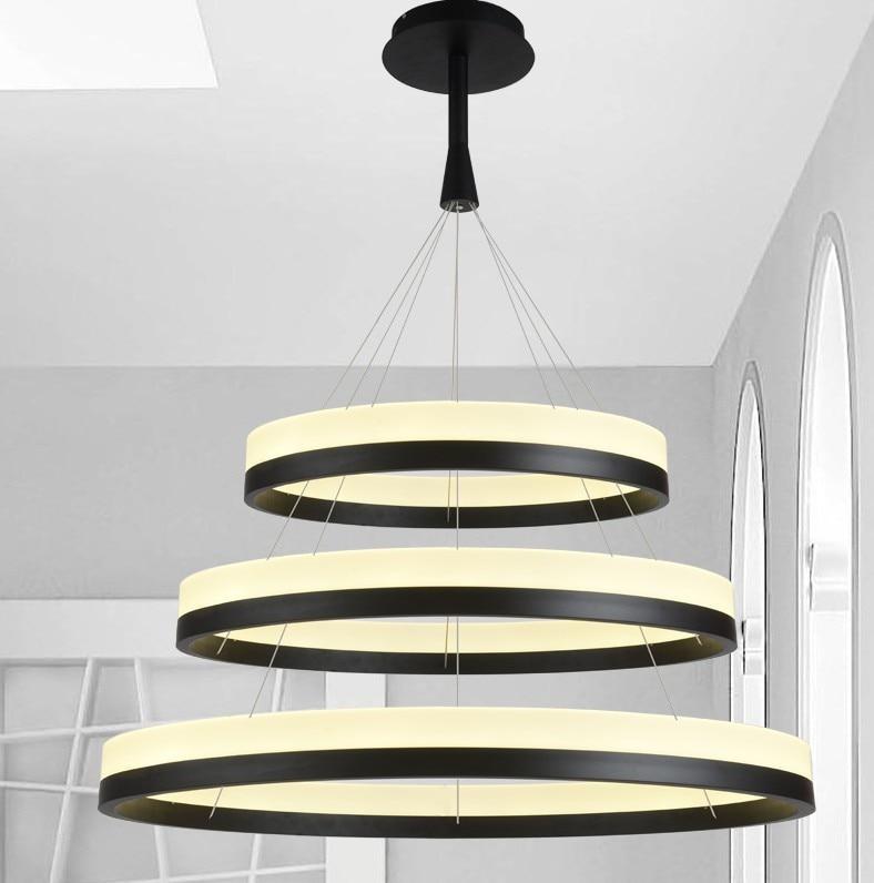 Modern Design Led Hanging Chandelier At Low