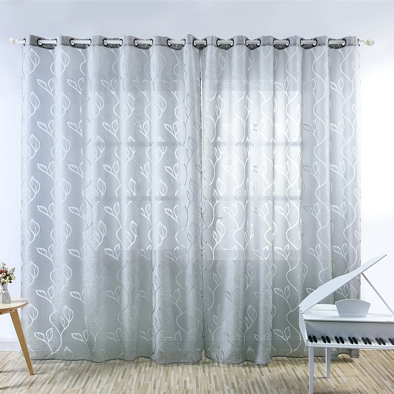 home cloth curtains in aliexpress calico blackout finished window janela on leaves from vine cortina room com de curtain product for screens item garden kids