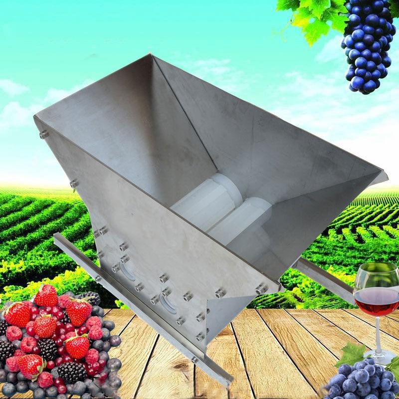 과일 분쇄기 더블 롤러 휴대용 pulper 애플 scratter 사이더 와인 주스 프레스 슈레더 포도 그라인더 레드 와인 양조-에서방앗간부터 홈 & 가든 의  그룹 1