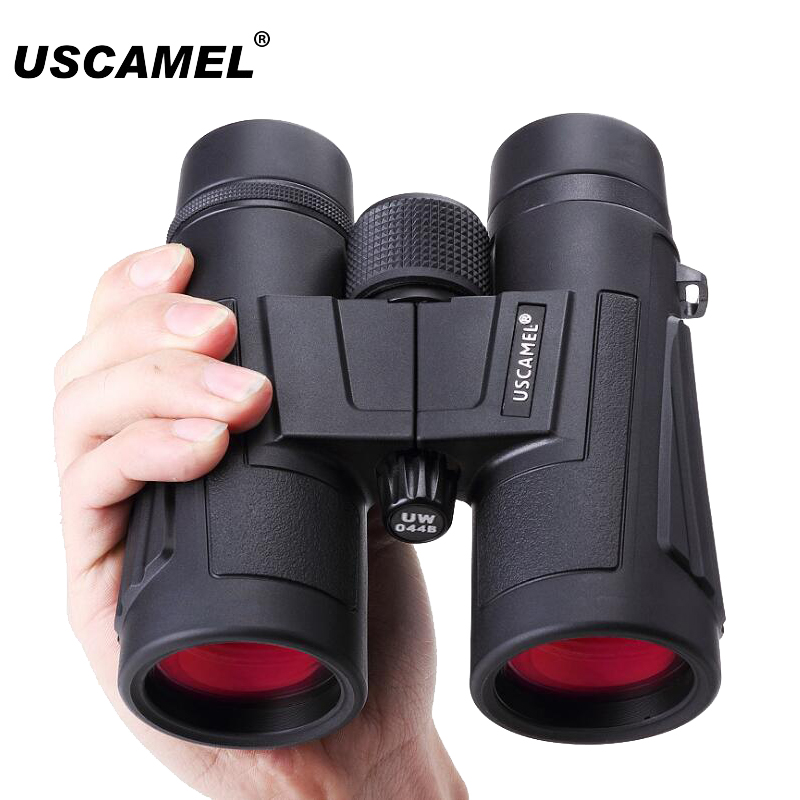 USCAMEL ED Lens Binoculars 8x42/10x42 Military HD High Power Nitrogen-filled Waterproof Optical Telescope Professional Hunting