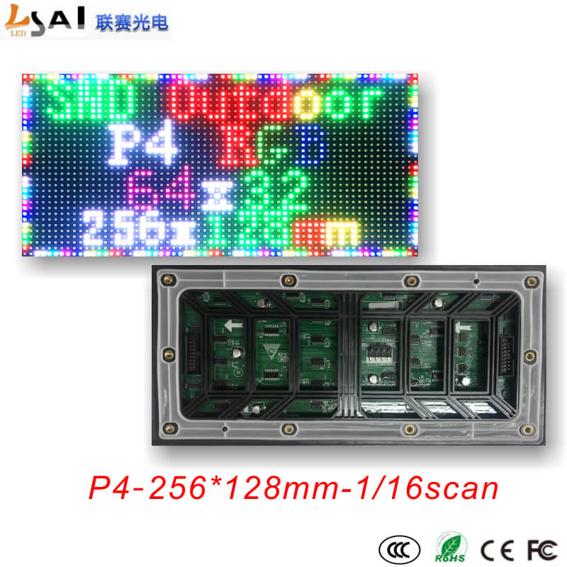 Cheap for all in-house products p10 rgb led panel in FULL HOME