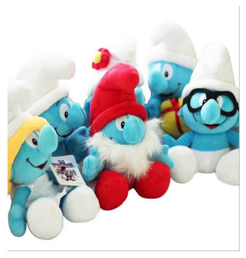 Plush Toy Smurfette Soft Movie Character Stuffed Animal Doll NEW stuffed animal jungle lion 80cm plush toy soft doll toy w56