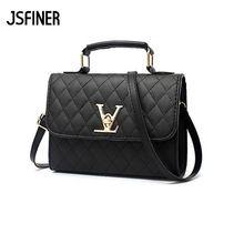 JSFINER Flap V Logo Luxurious Handbag For Women Cover Up Zipper Shopping Shoulder Bags Women Fashion Banquet Totes Handbag цены