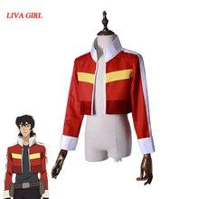 Voltron: lendário defensor do universo keith akira kogane cosplay traje jaqueta casaco halloween carnaval fantasias cosplay