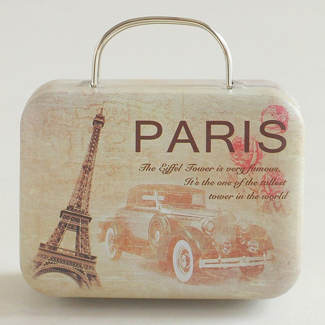 10 Pcs/lot New Arrival Vintage Small Suitcase Storage Tin Candy Box Change  Box Earphones Box Small Suitcase V3626 In Storage Boxes U0026 Bins From Home U0026  Garden ...