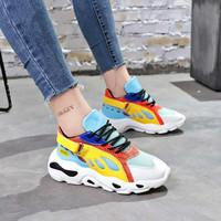 2019 Spring Autumn Women Casual Shoes Comfortable Platform Woman Sneakers Ladies Trainers Chaussure Femme Platform Sneakers