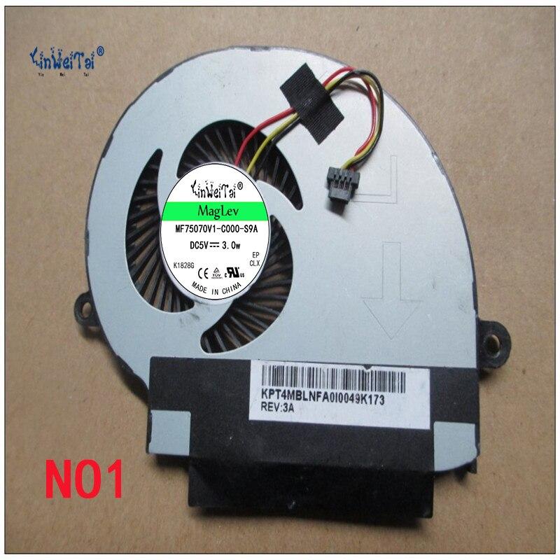 Laptop CPU cooling fan for  FCN 4 MBLNFA0I30 43K 0EP DFS501105FR0T FG06 5V 0.5A  R laptop keyboard for hp for envy 4 1014tu 4 1014tx 4 1015tu 4 1015tx 4 1018tu backlit northwest africa 692759 fp1 mp 11m6j698w