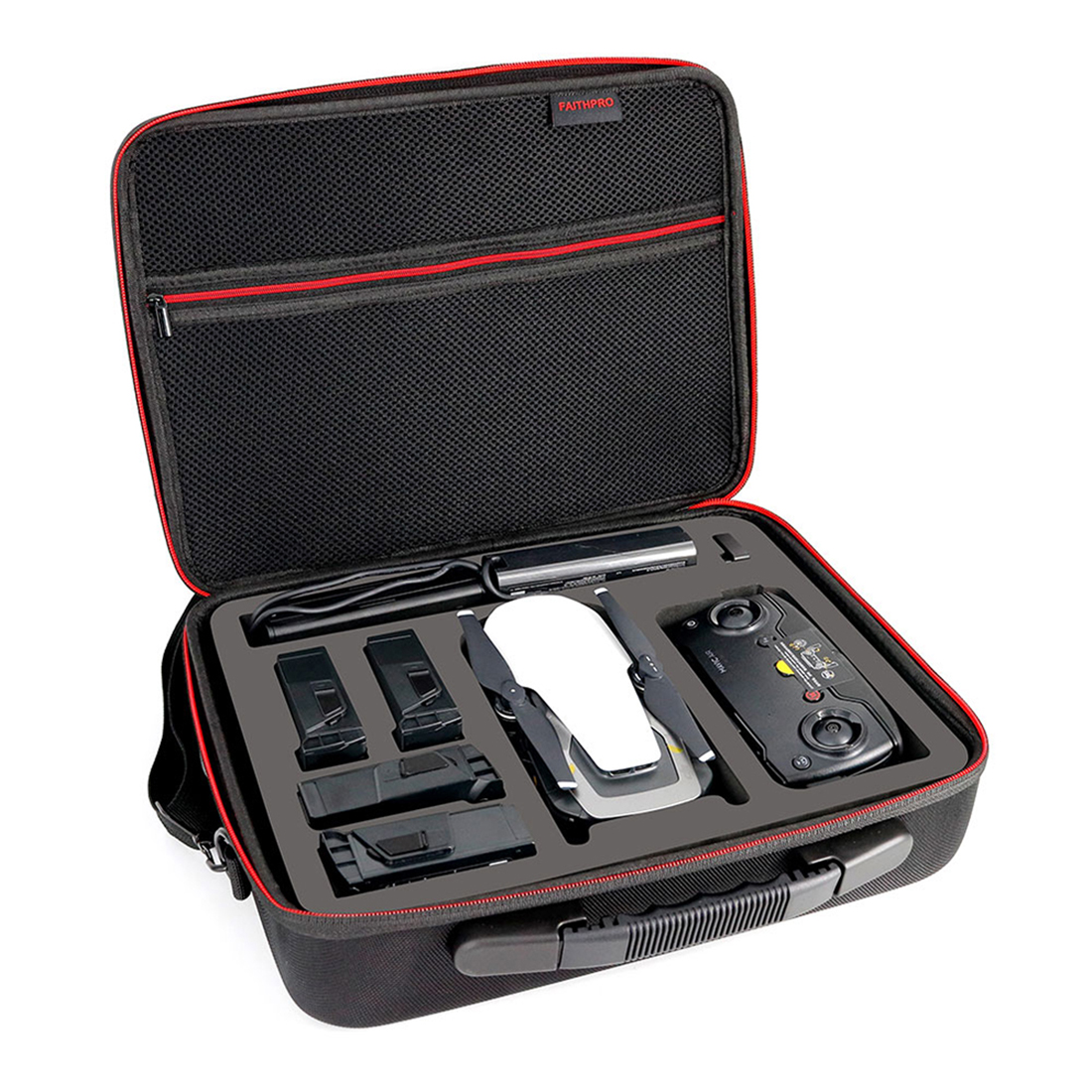 HOBBYINRC Handbag Portable Storage Case for DJI Mavic Air EVA 5 Battery Cell Storage Organizer Bag