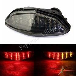 Papanda przyciemniana motocyklowa LED 12V tylny hamulec Turn Light lampa tylna do Suzuki DL 650 1000 v-strom 2003-2008