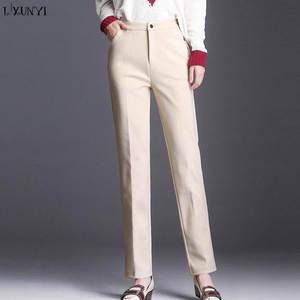 536e3be3868 Lxunyi 2018 Pants for Women Plus Size Pants Female Trousers