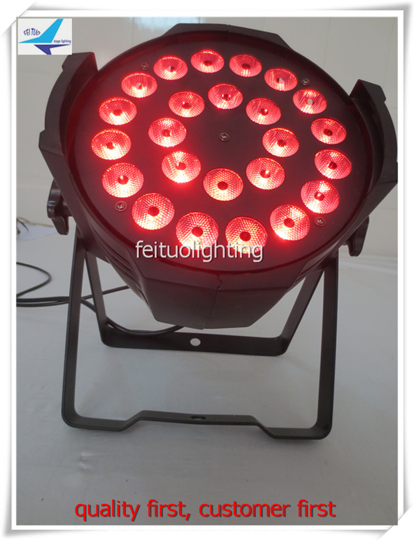 24x18w rgbwa uv 6in1 led par can light led par light stage