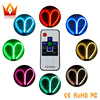 2PCS 60cm Car Accessories Daytime Running Light RGB Tube Soft And Flexible Auto LED Strip DRL
