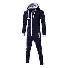 Купить с кэшбэком Centuryesatr Tmall Quality Pajamas Onesie For Man Zipper Pijama Masculino Erkek Pijamas Hombre Invierno Blue Pyjama Homme Mens