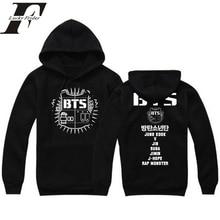 cd1537b4 2018 BTS kpop hoodies moda di harajuku sweatshirrts paio di vestiti cappuccio  donna uomo felpa tumblr