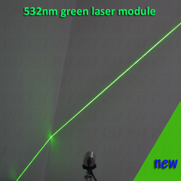 ФОТО 100mw green laser module WITH LINE  shape beam, with cooling device and power adapter AC110-240V, plug and use  long time work