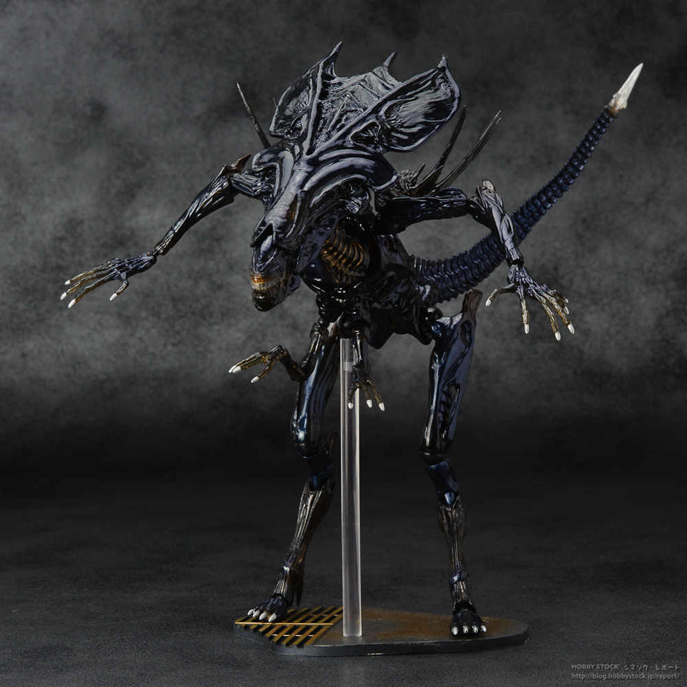 SCI-FIRECOLTECK Alien Series No 018 Ratu Alien Xenomorph Prajurit PVC Action Figure Collectible Model Toy Doll KT464