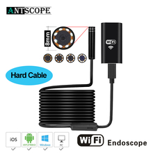 8LED 2MP HD720P Wifi Wireless Hard Flexible Snake USB Android IOS  Endoscope Camera Iphone USB Pipe Inspection Borecope Camera15
