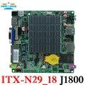 12*12 cm baytrail motherboard con lan dual quad core nano itx motherboard mainboard j1800 oem itx-n29_18