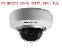 [In Stock] Origianl Hikvision H.265 CCTV Camera DS 2DE2202 DE3/W 8 Megapixesl Dome IP Camera Built in SD Card Slot & Audio