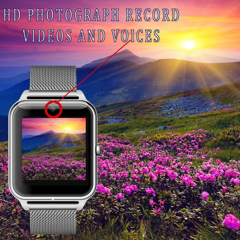 Smart Watch Men Bluetooth Dial Call Smartwatch Pedometer Sport Calorie Bracelet Waterproof Man Wrist Intelligent Smart Watch NEW