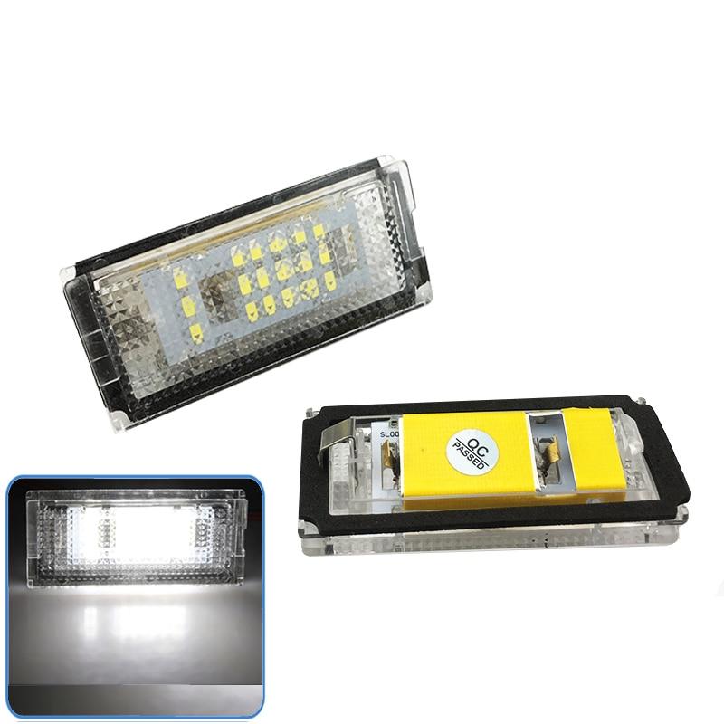 Car License Plate Light License Plate Light For Bmw E46 4D 1998-2003