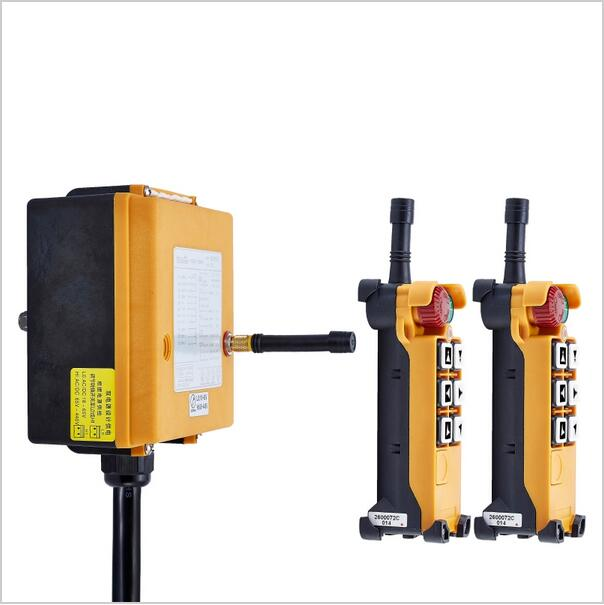 Image 3 - F26 C2 industrial remote control radio 6 channels Glass Fiber PA wireless remote control for cranes frequency VHF or UHFcontrole radiocontroller controlcontroller wireless -